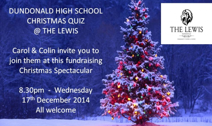 Christmas Quiz at the Lewis