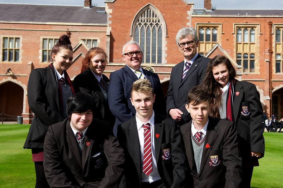 DHS PUPILS WORK ON RESEARCH PROJECT WITH QUEEN