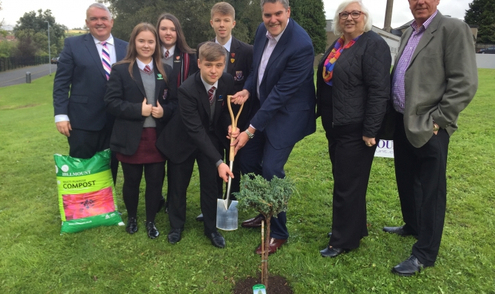 Hillmount Nursery Sponsor new House Trees